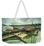 Bristol Barge Dry Dock  Weekender Tote Bag
