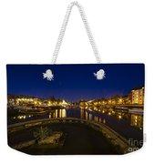 Bristol Docks By Night  Weekender Tote Bag