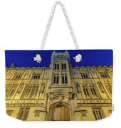 Bristol Guildhall By Night Weekender Tote Bag