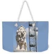 Britannia Lion Weekender Tote Bag