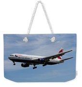 British Airways Boeing 767 Weekender Tote Bag