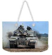 British Army Challenger 2 Main Battle Tank   Weekender Tote Bag