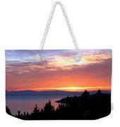 British Columbia Sunset Weekender Tote Bag
