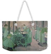 British Industries - Cotton Weekender Tote Bag by Frederick Cayley Robinson