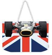 British Lotus Weekender Tote Bag