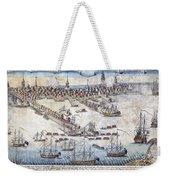 British Ships Of War, Landing Troops Weekender Tote Bag