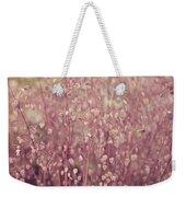 Briza Media Limouzi Decorative Quaking Grass Weekender Tote Bag