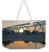 Broad Ripple Sunrise Weekender Tote Bag