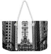 Broad Street At City Hall Weekender Tote Bag