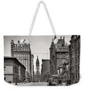Broad Street Philadelphia 1905 Weekender Tote Bag