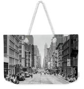 Broadway Chill Weekender Tote Bag