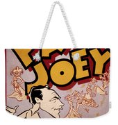 Broadway: Pal Joey, 1940 Weekender Tote Bag