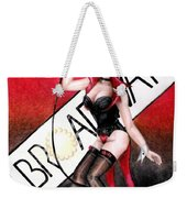Broadway Style Weekender Tote Bag