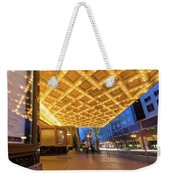 Broadway Theater Marquee Lights In Downtown Weekender Tote Bag