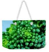 Broccoli Head Weekender Tote Bag