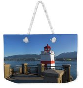 Brockton Point Lighthouse In Vancouver Bc Weekender Tote Bag
