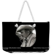 Broderick Crawford Ted Degrazias Gallery In The Sun Tucson Arizona 1969-2008 Weekender Tote Bag