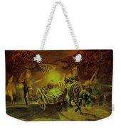 Broken Curtain At The Cricot-2 Theater Weekender Tote Bag