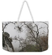 Broken Heart In  Fog Weekender Tote Bag