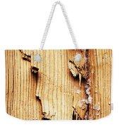 Broken Old Stump Spruce Weekender Tote Bag
