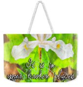 Broken Places Weekender Tote Bag