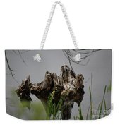 Broken Root Stump In Water  Weekender Tote Bag