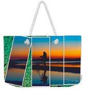 Broken Sunset Weekender Tote Bag