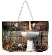 Broken Toilet Weekender Tote Bag by Carlos Caetano