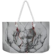 Brokenness Weekender Tote Bag