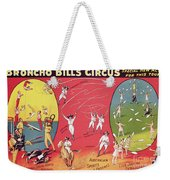 Bronco Bills Circus Weekender Tote Bag