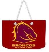 Broncos Brisbane Weekender Tote Bag