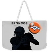 Broncos Football Weekender Tote Bag