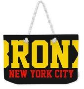 Bronx Weekender Tote Bag