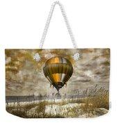 Bronze Beach Ballooning Weekender Tote Bag