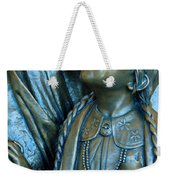 Bronze Onieda Indian Girl Weekender Tote Bag