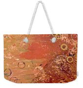 Bronze Oxidation Weekender Tote Bag
