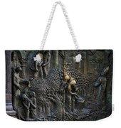 Bronze Sculptured Church Door - Slovenia Weekender Tote Bag