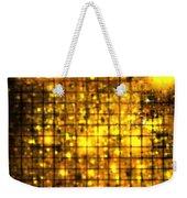 Bronze Solar Cubes Weekender Tote Bag