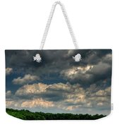 Brooding Sky Weekender Tote Bag by Lois Bryan