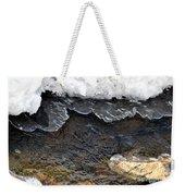 Brook Ice Macro Weekender Tote Bag