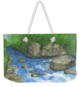 Brook And Stream  Weekender Tote Bag