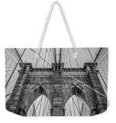 Brooklyn Bridge Goes Up Weekender Tote Bag