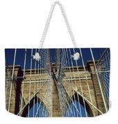 Brooklyn Bridge New York City Weekender Tote Bag