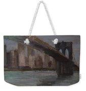Brooklyn Bridge Painting Weekender Tote Bag