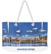 Brooklyn Bridge Pano  Weekender Tote Bag