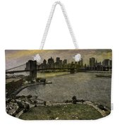Brooklyn Bridge Park Weekender Tote Bag