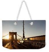 Brooklyn Brige Sunset Weekender Tote Bag