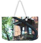 Brooklyn Building And Tree Weekender Tote Bag