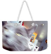 Brooklyn Cat Weekender Tote Bag