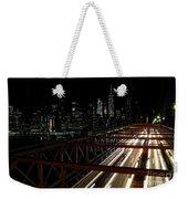 Brooklyn Lights Weekender Tote Bag